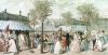 The Palais Royal Garden Walk 1787 by Philibert Louis Debucourt