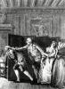 Grands coups de pied dans le derriere by Jean Michel Moreau the Younger