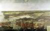 The Siege of La Rochelle in 1628 by Adrian van der Cabel