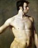 Male Torso c.1800 by Jean-Auguste-Dominique Ingres