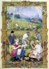 The Month of August' The Harvest by French School