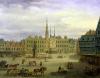 Place de L'Hotel de Ville Cambrai c.1780 by Antoine Francois Saint-Aubert