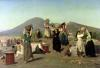 The Excavations at Pompeii 1865 by Edouard Alexandre Sain
