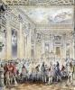 Feast given by Madame du Barry for Louis XV 1771 by Jean Michel Moreau the Younger