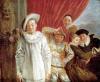 Actors of the Comedie Italienne by Jean Antoine Watteau