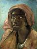 A Young Negro Woman by Jean-Louis-André-Théodore Géricault