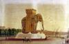 View of the Elephant Fountain at the Place de la Bastille c.1805 by Jean Antoine Alavoine