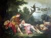 The Sleeping Shepherdess by Francois Boucher