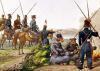 Danube Cossacks in 1814 by Austrian School