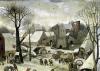 The Census at Bethlehem by Pieter Brueghel The Elder