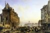 Attack on the Hotel de Ville 1830 by Joseph Beaume