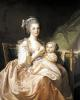 The Young Mother c.1770 by Jean Mosnier