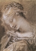 Head of the Virgin by Pierre-Paul Prud'hon