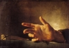 Study of a Hand by Jean-Louis-André-Théodore Géricault