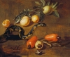 Still Life of Fruits from Surinam and Reptiles by Dirk Valkenburg
