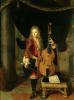 Portrait of Johann Schenck by Constantin Netscher