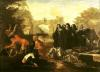 The Abbess of Etival Returning to Le Mans with Four Nuns by Jean de Coulom