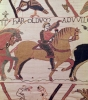 Here Count Guy leads Earl Harold to William Duke of Normandy by French School