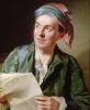 Portrait of Jean-Francois Marmontel 1767 by Alexander Roslin