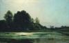 Landscape at Cernay 1866 by Emile Adelard Breton