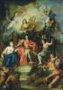Louis XIV Crowned by Glory c.1686 by Antoine Coypel