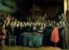 The Swearing of the Oath of Ratification of the Treaty of Munster c.1837 by Claude Jacquand