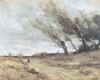 The Gust of Wind c.1865 by Jean-Baptiste-Camille Corot