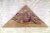 Tympanum depicting the Saviour Blessing 1341 by Simone Martini