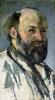 Self Portrait c.1877 by Paul Cezanne