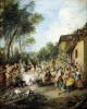 Wedding Feast in the Village by Nicolas Lancret