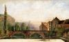 The Pont de Nahin at Ornans c.1837 by Gustave Courbet