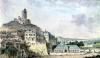 Chateau de La Roche-Guyon by Louis-Nicolas de Lespinasse