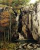 The Chasm at Conches 1864 by Gustave Courbet