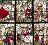 Window of the Pilgrims of St. James of Compostela 1593 by Pierre Bacon