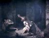 The Prisoner of Chillon 1834 by Eugene Delacroix