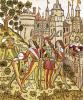 The City of God and the City of This Century 1486 by French School