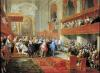 Presentation of the Order of the Holy Spirit to Prince Vaini c.1752 by Giovanni Paolo Panini