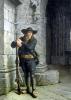 Armed Breton Guarding a Porch by Charles Loyeux