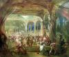 Ball at the Opera de Paris during the Second Empire by French School