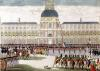 Parade in the Courtyard of the Palais des Tuileries by Thomas Naudet