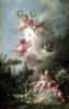Cupid's Target from 'Les Amours des Dieux' 1758 by Francois Boucher