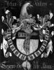 Coat of Arms of Jehan de Villers Seigneur of Lille Adam by Flemish School