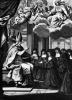 St. Francois de Salles Giving the Rule of the Visitation to St. Jeanne de Chantal by Gilles Rousselet