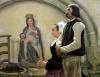 Visiting the Virgin of Benodet 1898 by Jean Eugene Buland