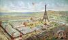 General View of the Universal Exhibition Paris 1889 by French School