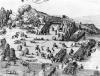 General view of the battle of Muhlberg, 1547 (Detail) by German School