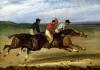 The Horse Race by Jean-Louis-André-Théodore Géricault