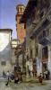 Via Mazzanti Verona 1880 by Jacques Carabain