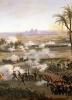 Battle of the Pyramids 1806 (detail) by Louis Lejeune