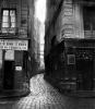 Rue Tirechape from rue St. Honore Paris 1858 by Charles Marville